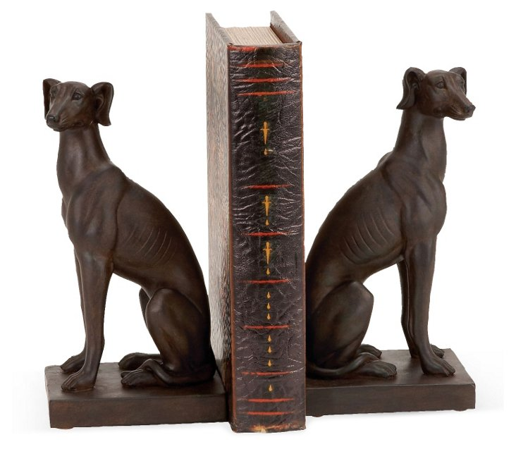 Pair of Setter Bookends
