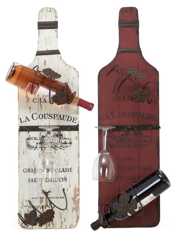 Wine Bottle Racks, Asst. of 2
