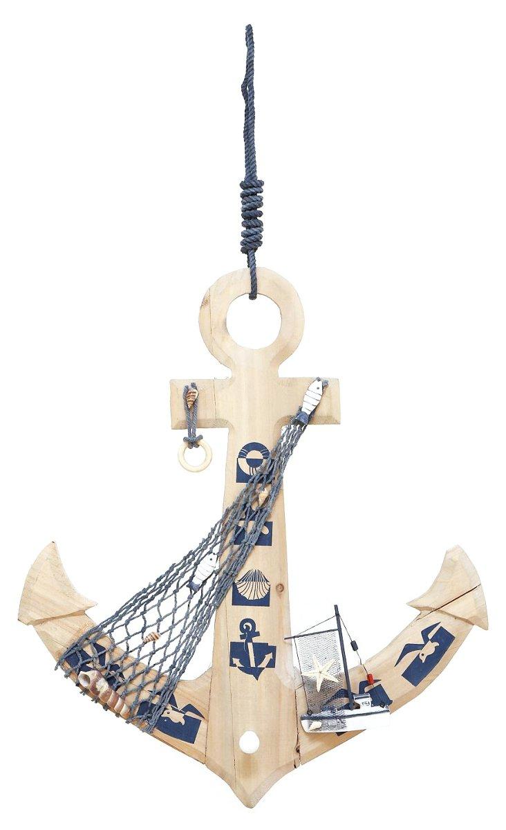 Wooden Anchor Set