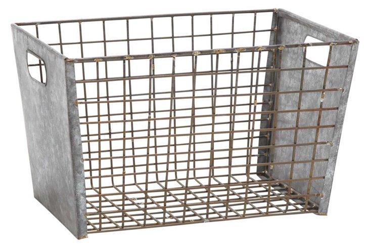 Metal Wire Basket, Medium