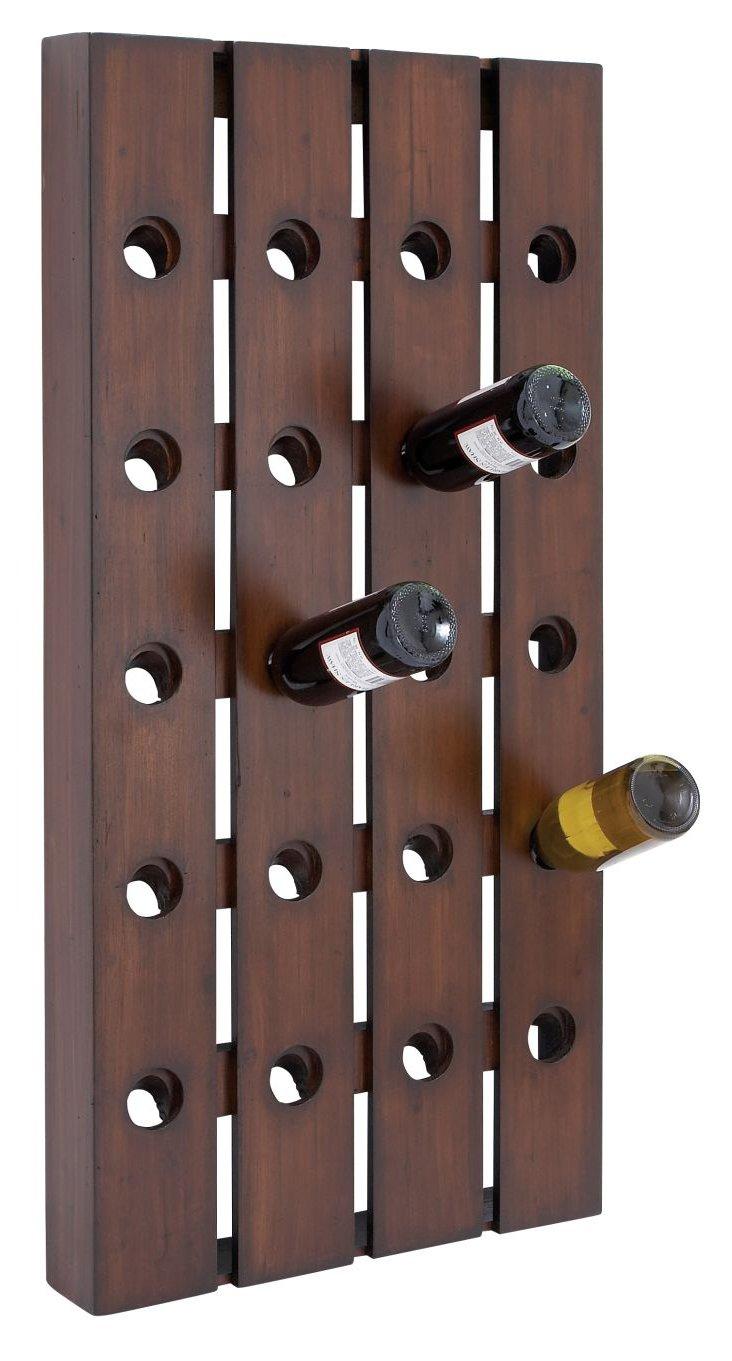 Pegboard Wall Wine Rack