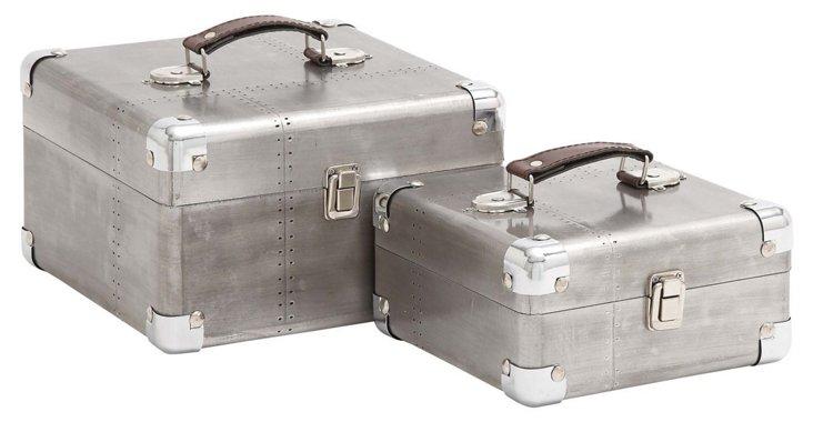 Asst. of 2 Aluminum Cases