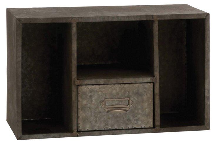 "16"" Metal Wall Shelf"