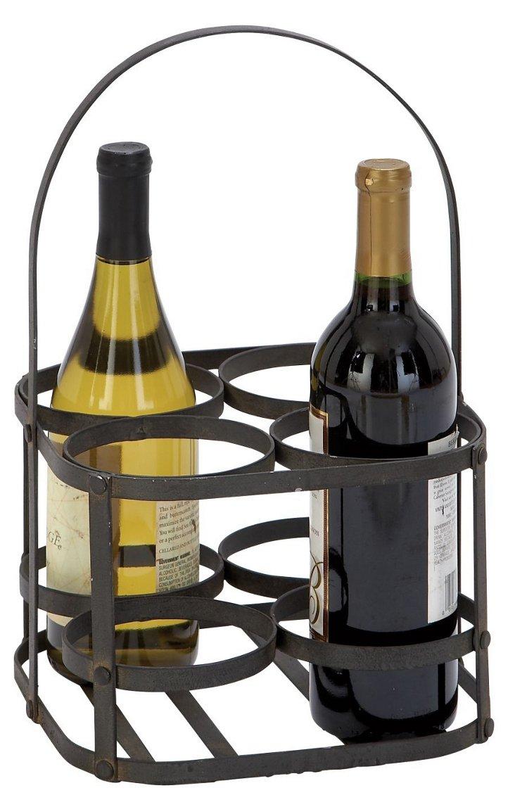 Metal Wine Carrier