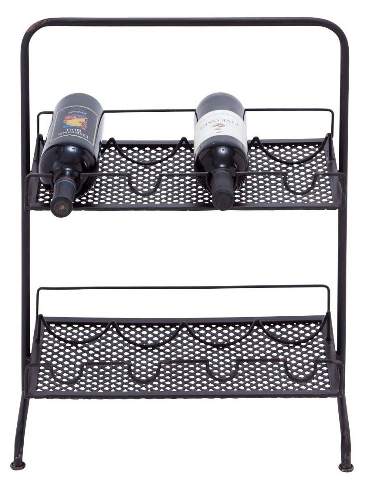 Two-Tier Wine Rack