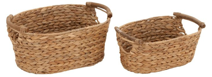 S/2 Sea-Grass Baskets