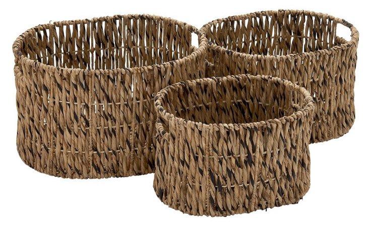 S/3 Sea-Grass Baskets