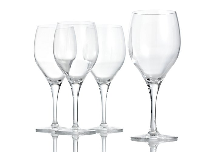 Set of 4 Red-Wine Glasses