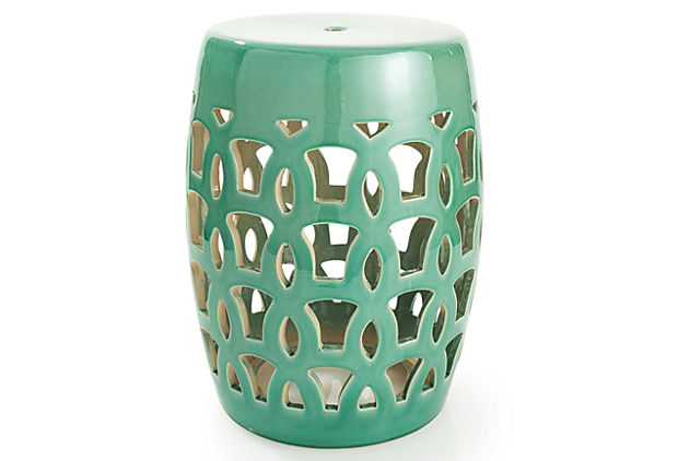 17 garden stool teal chinese garden stools one kings