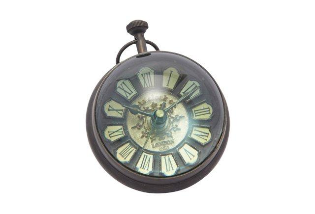 "4.5"" Brass Clock"