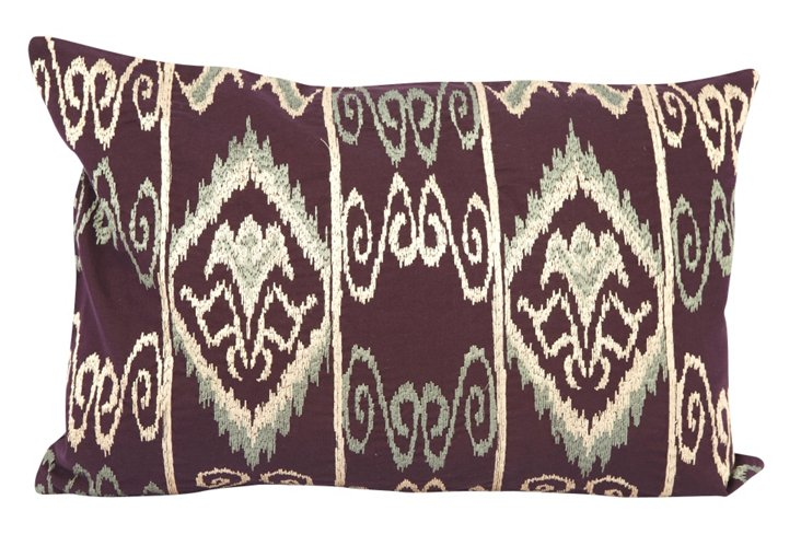 Mayan 12x18 Pillow, Purple