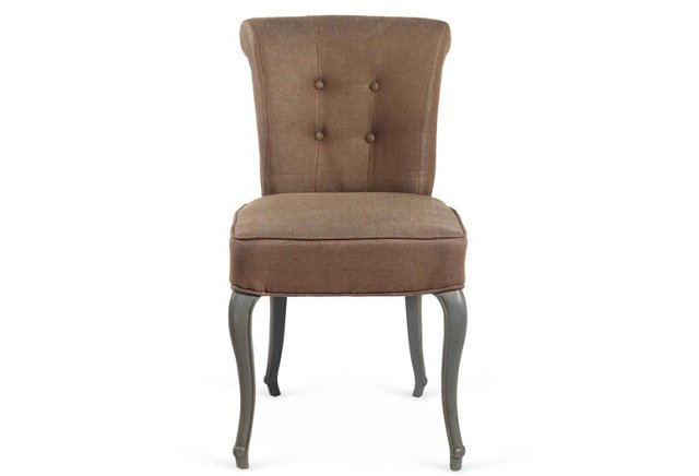 Bobbie Side Chair, Cocoa