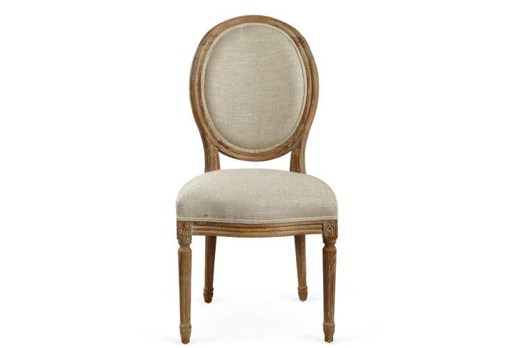Jo Side Chair, Beige