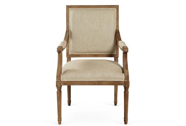 Ashbery Armchair, Ivory