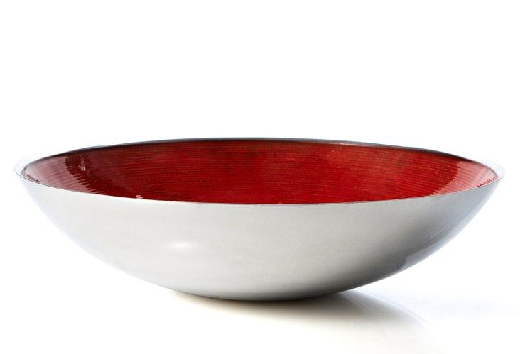 Round Aluminum Bowl