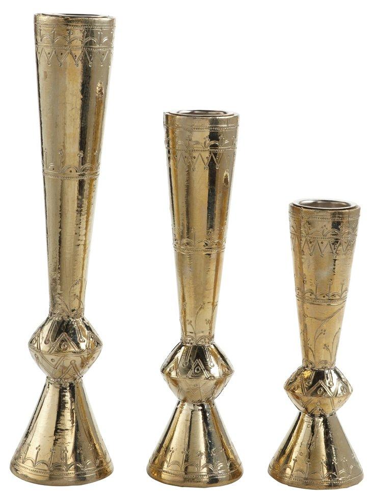 S/3 Adoosa Candleholders