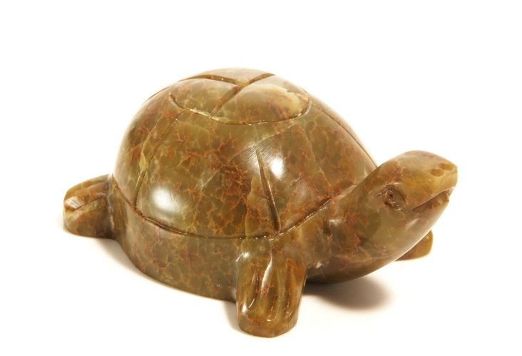 Carved Stone Tortoise