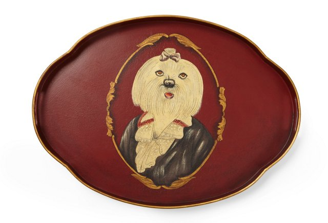 Miss Chinless Tray