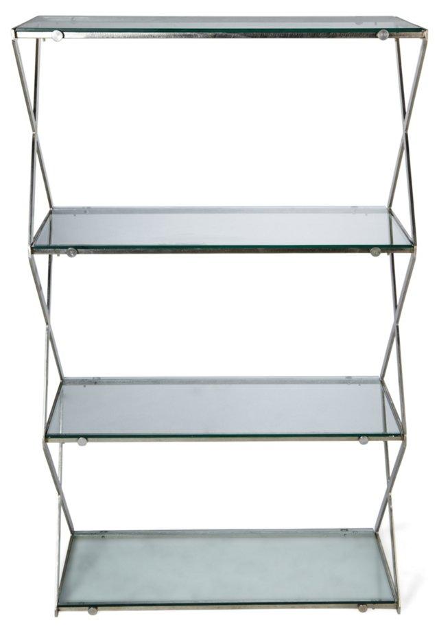Charleston X Design Shelf