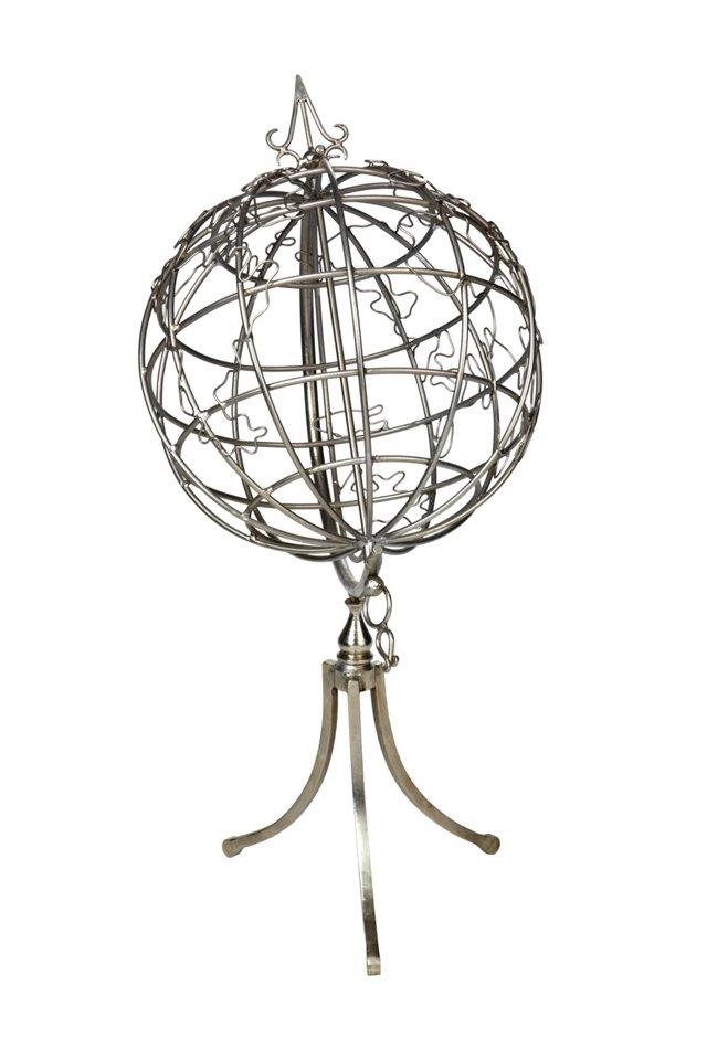 Wire Metal Globe