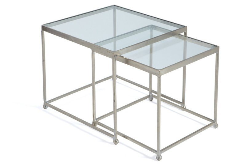 Maiden Nesting Tables, Set of 2