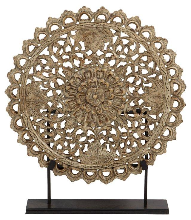 Decorative Medallion, Mounted