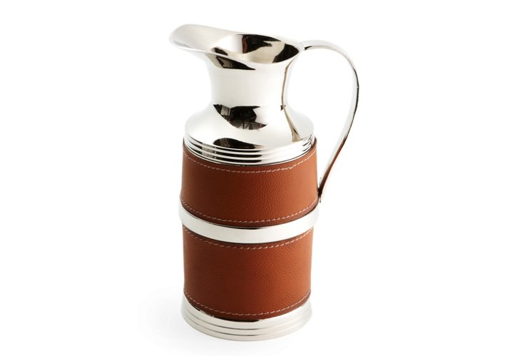 Leather Pitcher
