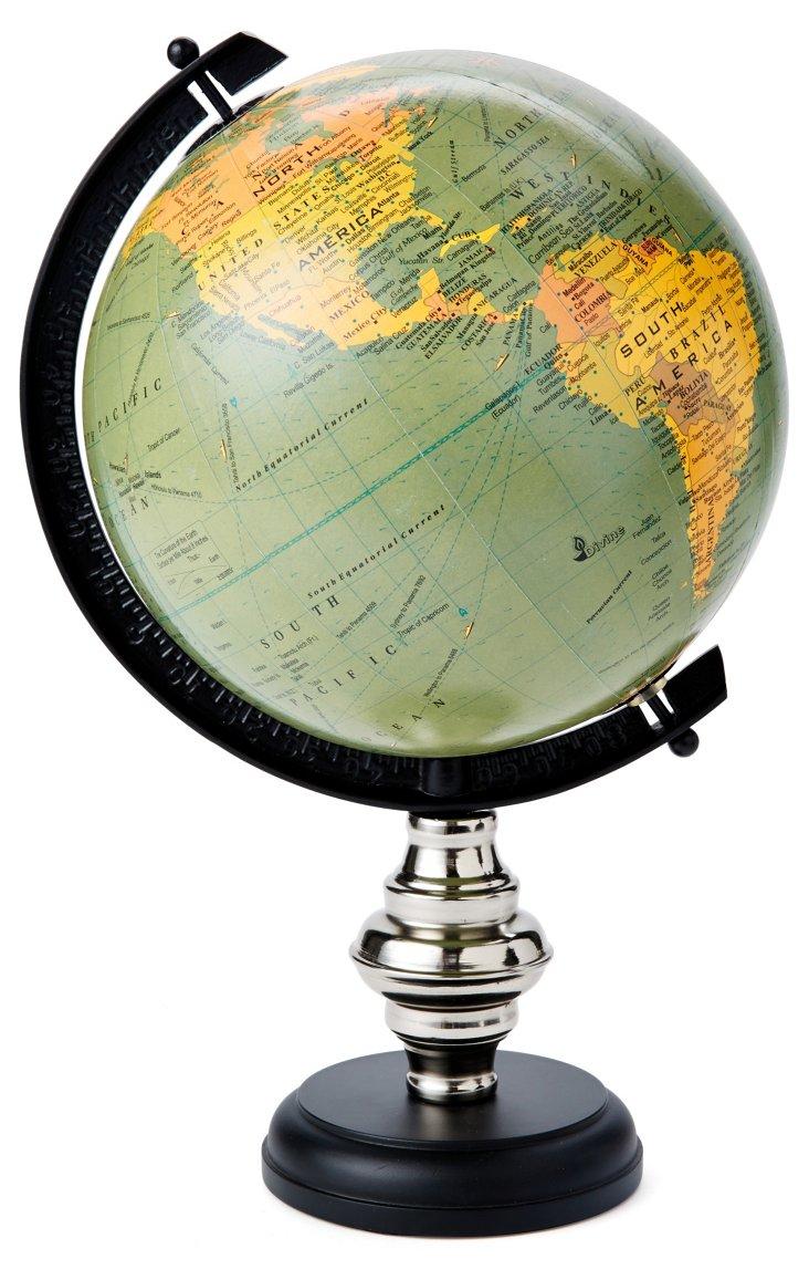 "15"" Globe on Stand"