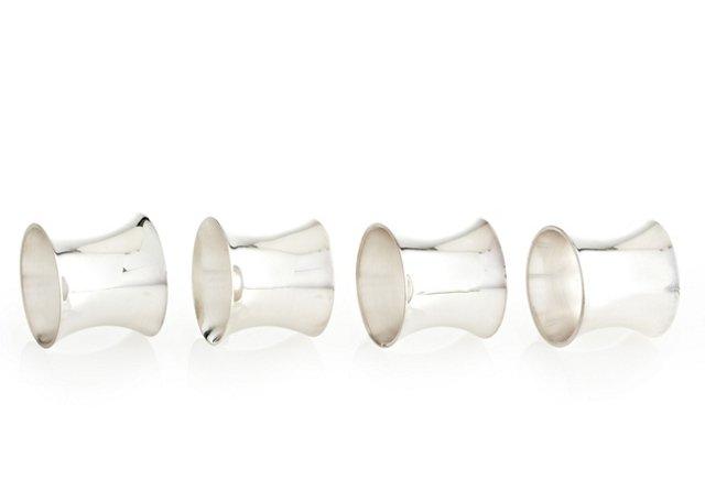 S/4 Barrel Napkin Rings