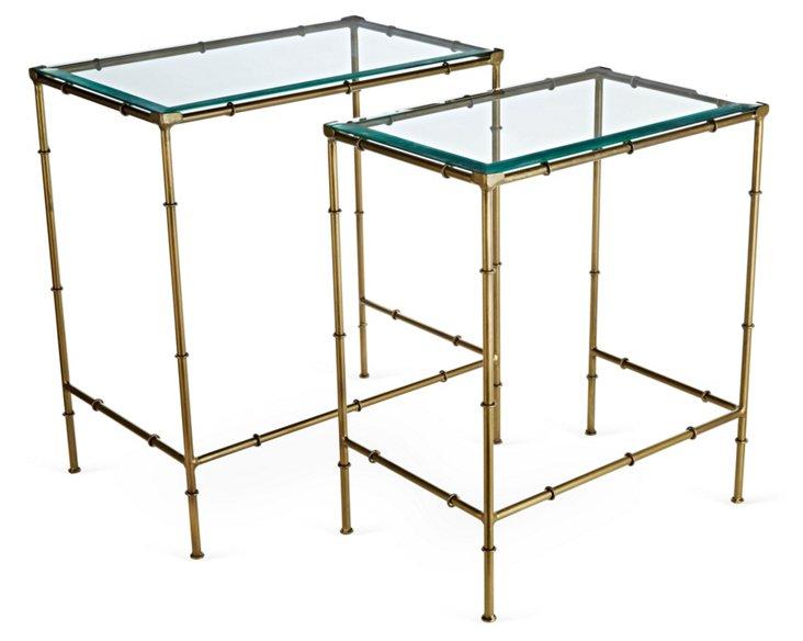 Astor Nesting Tables, Pair