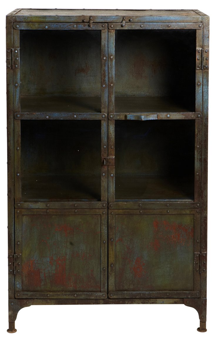 Iron + Glass Cabinet