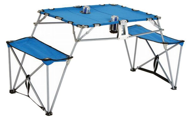 Dalby Portable Table, Royal Blue