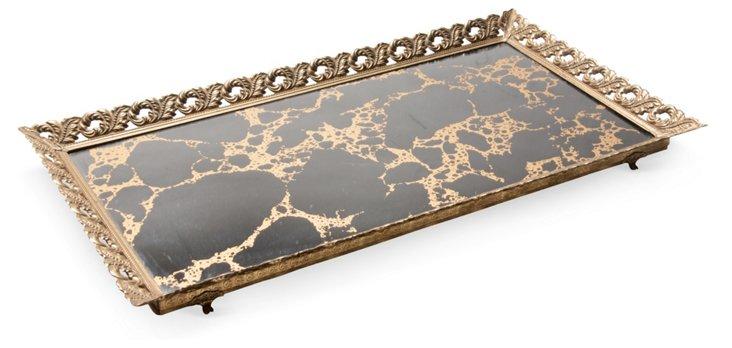 Mirrored Vanity Tray