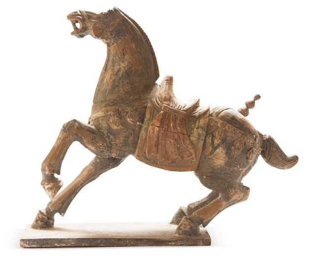 Grand Carved Tang Horse