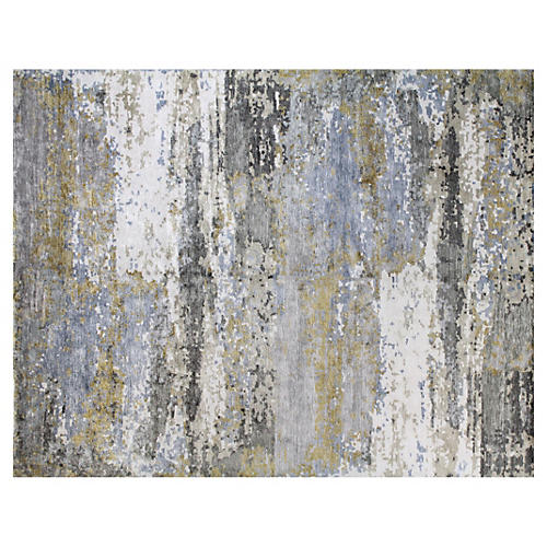 Olivia Rug, Gray/Gold