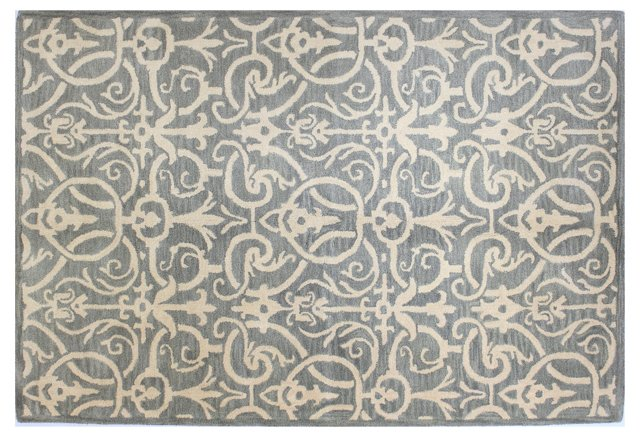 Wilson Rug, Light Blue