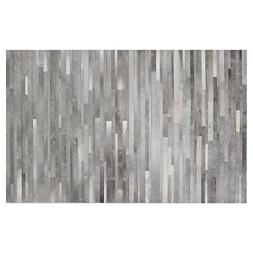 Ace Hide Rug, Gray