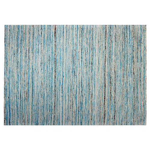 Bastia Rug, Light Blue