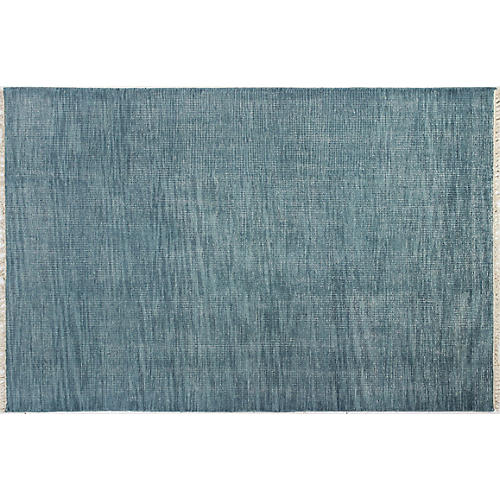 Brittany Hand-Knotted Rug, Teal