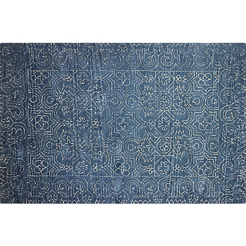 Riley Rug, Azure