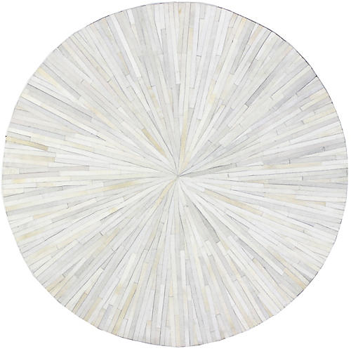 Aeolus Round Hide, Ivory