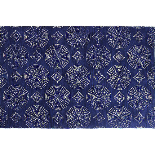 Ares Rug, Navy