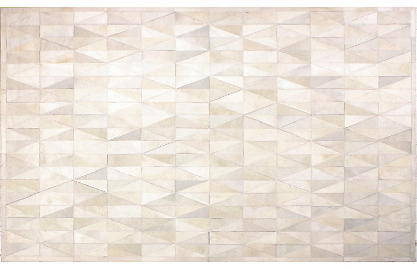 Ayrton Hide Ivory Hide Amp Sheepskin Rugs By Material