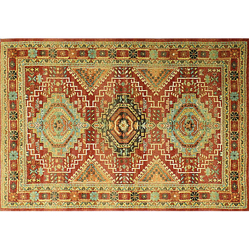 Beacon Rug, Rust/Multi
