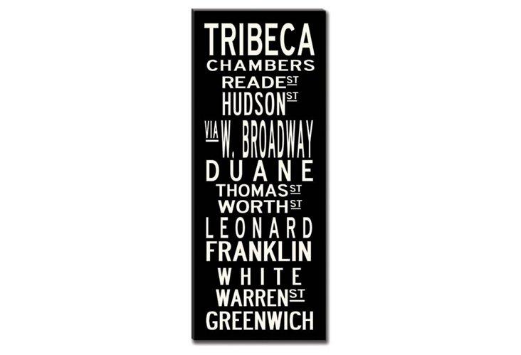 TriBeCa Canvas, Black