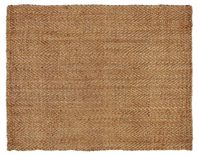 Pavlof Coir-Blend Rug, Natural