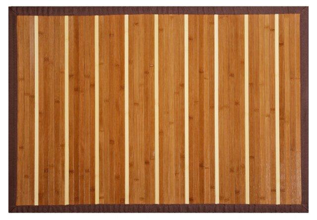 Kea Bamboo Rug, Brown