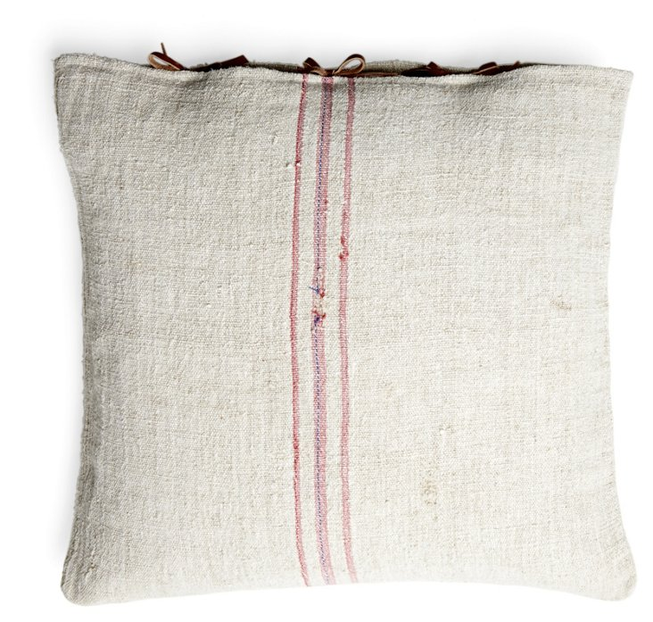 Sealed 22x22 Pillow, Red