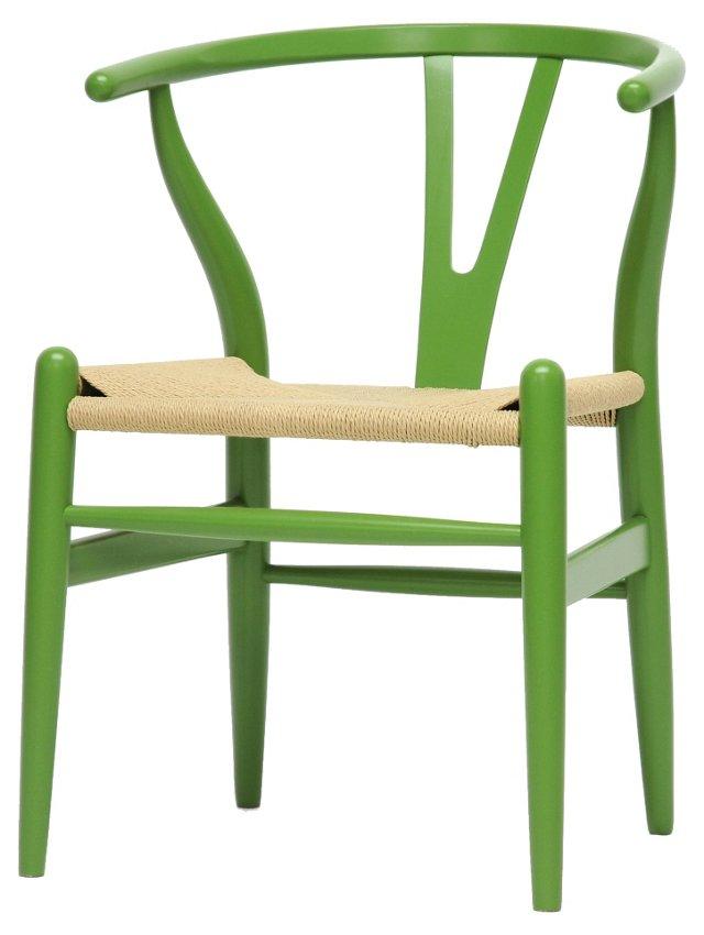 *IK Alden Chair, Green