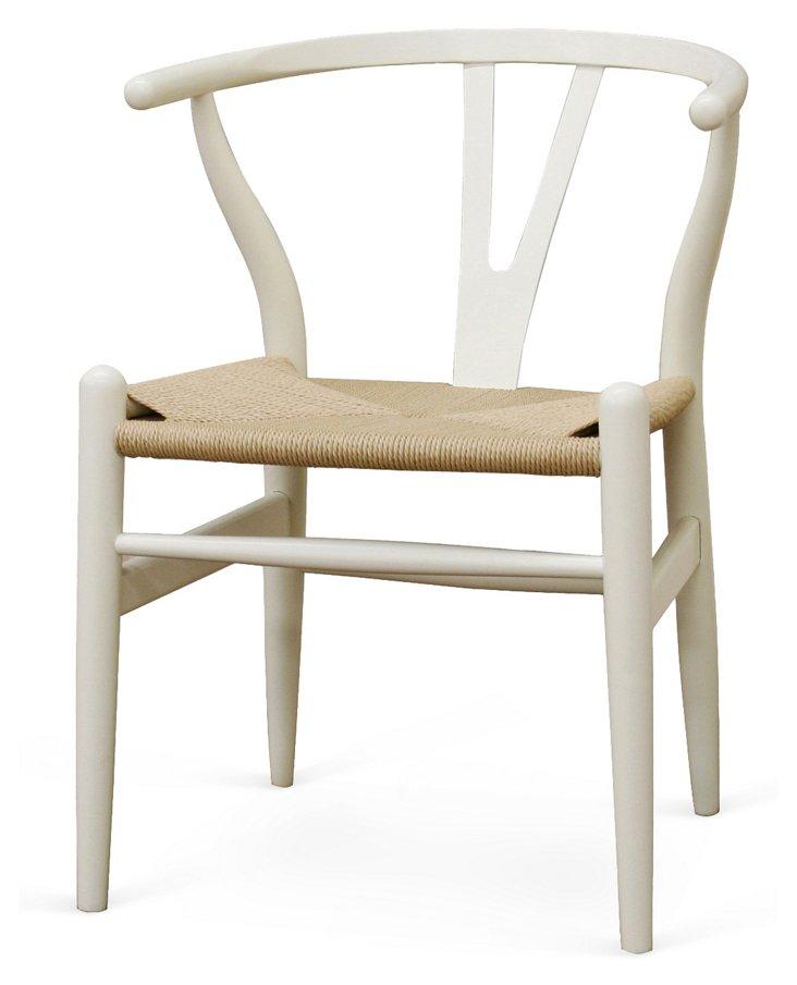 *IK Alden Chair, White
